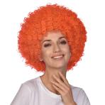 Orange Afro Wigs - 6 PC