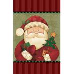 Cosy Santa Plastic Tablecovers - 6 PC