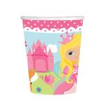 Woodland Princess Paper Cups 266ml - 12 PKG/8