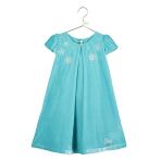 Elsa Velvet Smock Dress - Age 2-3 Years - 1 PC