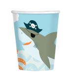 Ahoy Birthday Paper Cups 250ml - 6 PKG/8