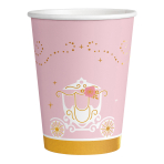 Princess for a Day Metallic Paper Cups 250ml - 6 PKG/8