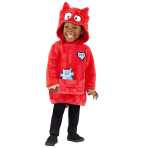 Love Monster Costume - Age 4-6 Years - 1 PC