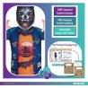 Werewolf Sustainable Costume - Age 8-10 Years - 1 PC