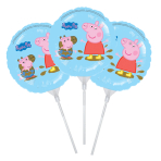Peppa Pig EZ-Fill Foil Balloon - Retail pack of 3 - A70 10 PC