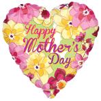 Happy Mother's Day Flower Garden Standard Foil Balloons S40 - 5 PC