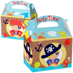 Favours Party Boxes Pirate - 75 PC