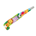 Jungle Friends Noisemaker Blowouts - 6 PKG/8