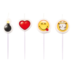 SmileyWorld Pick Candles - 5 PKG/4