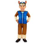 Paw Patrol Chase Costume - Age 2-3 Years - 1 PC