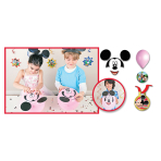 Disney Party Games Build Mickey Mouse Head - 6 PKG/6