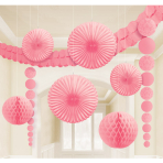 Light Pink Party Decoration Kit - 6 PKG