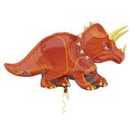 """Triceratops Supershape Foil Balloons 42""""/106cm w x 24""""/60cm h P35 - 5PC"""