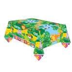 Jungle Friends Plastic Tablecovers 1.8m x 1.2m - 6 PC
