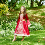 Medieval Princess Costume - Age 6-8 Years - 1 PC