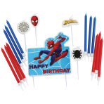 Spider-Man Candle Sets - 6 PKG/17