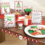 Cookies for Santa Mini Buffet Decorating Kits - 6 PKG/8