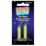 Crazy Glow Earrings  - 5.7cm 12 PKG