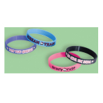 Monster High Rubber Bracelets - 6 PKG/4