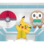 Pokémon Honeycomb Decorations - 6 PKG/3