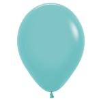 "Fashion Colour Solid Aquamarine 037 Latex Balloons 12""/30cm - 50 PC"