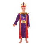 King Nativity Costume - Age 5-6 Years - 1 PC