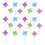 Pinwheel Cocktail Picks - 6 PKG/50