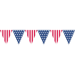 USA Pennant Banners 3.65m - 24 PC