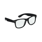 Fun Shades Nerd Black Clear - 6 PKG