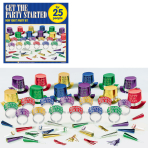 Get The Party Started New Year's Party Kits - 4 PKG/50