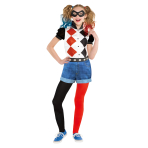 Harley Quinn Classic Costume - Age 8-10 Years - 1 PC