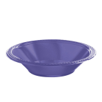 New Purple Plastic Bowls 355ml - 10 PKG/20