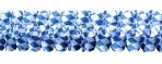 Bavarian Paper Blue & White Garlands 4m x 16cm - 10 PKG
