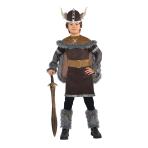 Children Viking Warrior Costume - Age 8-10 Years - 1 PC