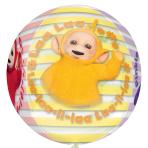 """Teletubbies Orbz Foil Balloons 15""""/38cm w x 16""""/40cm h G40 - 5 PC"""