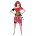 Witch Doctor Costume - Size 12-14 - 1 PC