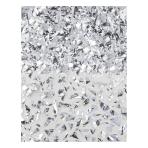 Silver Sparkle Foil Shred Confetti 42g - 12 PC