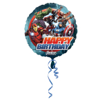 Avengers Birthday Foil Balloon - Standard S60 5 PC