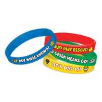 Paw Patrol Rubber Bracelets - 6 PKG/4