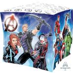 """Avengers Cubez Foil Balloons 15""""/38cm/15""""/38cm G40 - 5 PC"""
