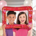 Valentine's Inflatable Foil Selfie Frames 40cm x 58cm - 5 PC