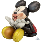 "Mickey Mouse Airwalker Foil Balloons 25""/63cm x 29""/73cm P93 - 5 PC"