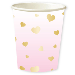 1st Birthday Pink  Cups 250ml - 6 PKG/8