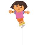Dora the Explorer Mini Shape Foil Balloon - 5  PC