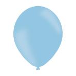 "Powder Blue Latex Balloons 11""/27.5cm - 10 PKG/10"