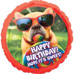 "Avanti Sweet Birthday Jumbo Foil Balloons 28""/71cm w x 28""/71cm h P35 - 5 PC"