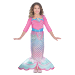 Barbie Rainbow Mermaid Dress - Age 5-7 Years - 1 PC