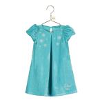 Baby Elsa Velvet Smock Dress - Age 6-12 Months - 1 PC