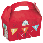 Barnyard Birthday Treat Boxes - 6 PKG/8