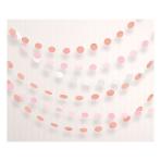 Rose Gold Blush Dot Garlands 2.13m - 6 PKG/6